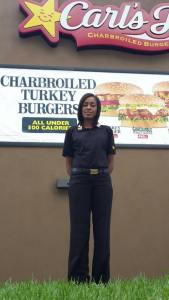 Carl's Jr All-Star General Manager Nushieka Saunders heads to Calgary to train employees- pic 2