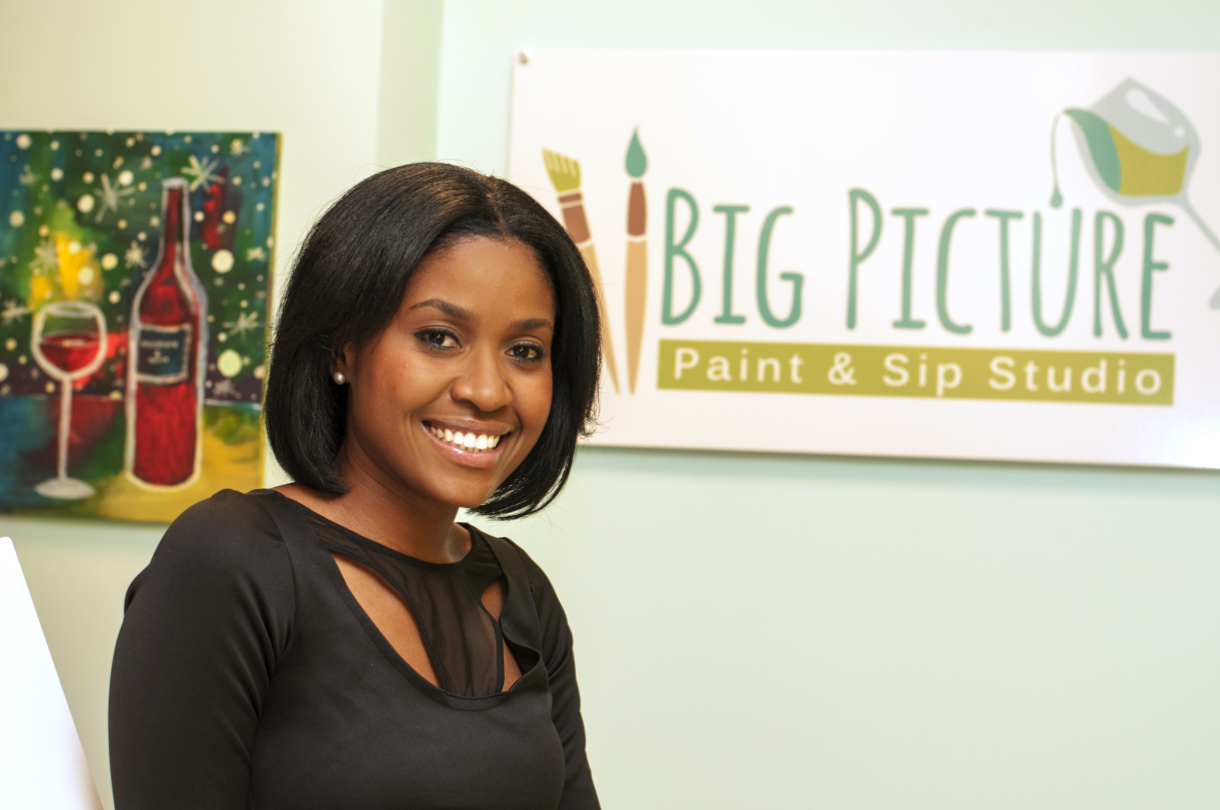 Pic 2-Big Picture Founder Gennyne Hepburn in studio.JPG