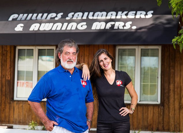 larry-phillips-sailmaker-and-daughter-j-brooke-phillips_-loft-manager_-phillips-sails-and-awnings